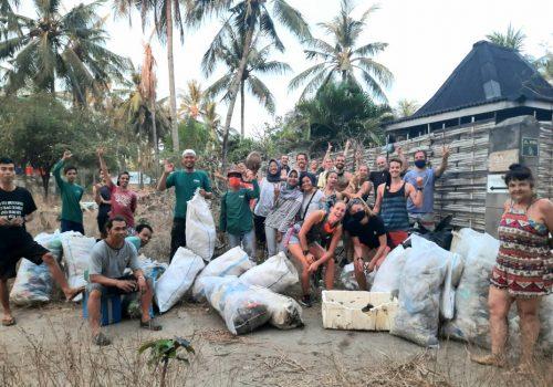 World Clean up day 2020 Gili Trawangan