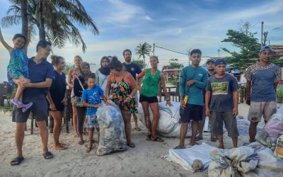 Celebrating Bali's Day of Silence with an Afternoon of Beach Clean Action!